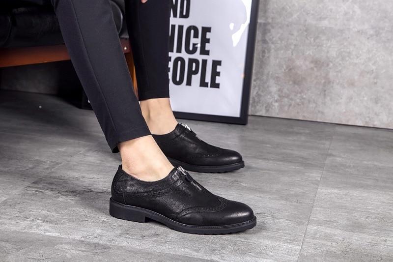 Ретро повседневные мужские кроссовки обувь оксфорды весна осень с круглым носком мужские военные ботинки на шнурках 2018 Ботинки натуральна