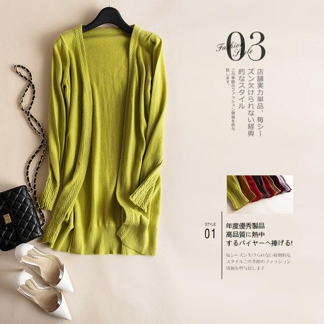 2019 סרוג ארוך סוודר נשים סתיו חורף כותנה סוודרים נקבה מקרית חולצות בתוספת גודל