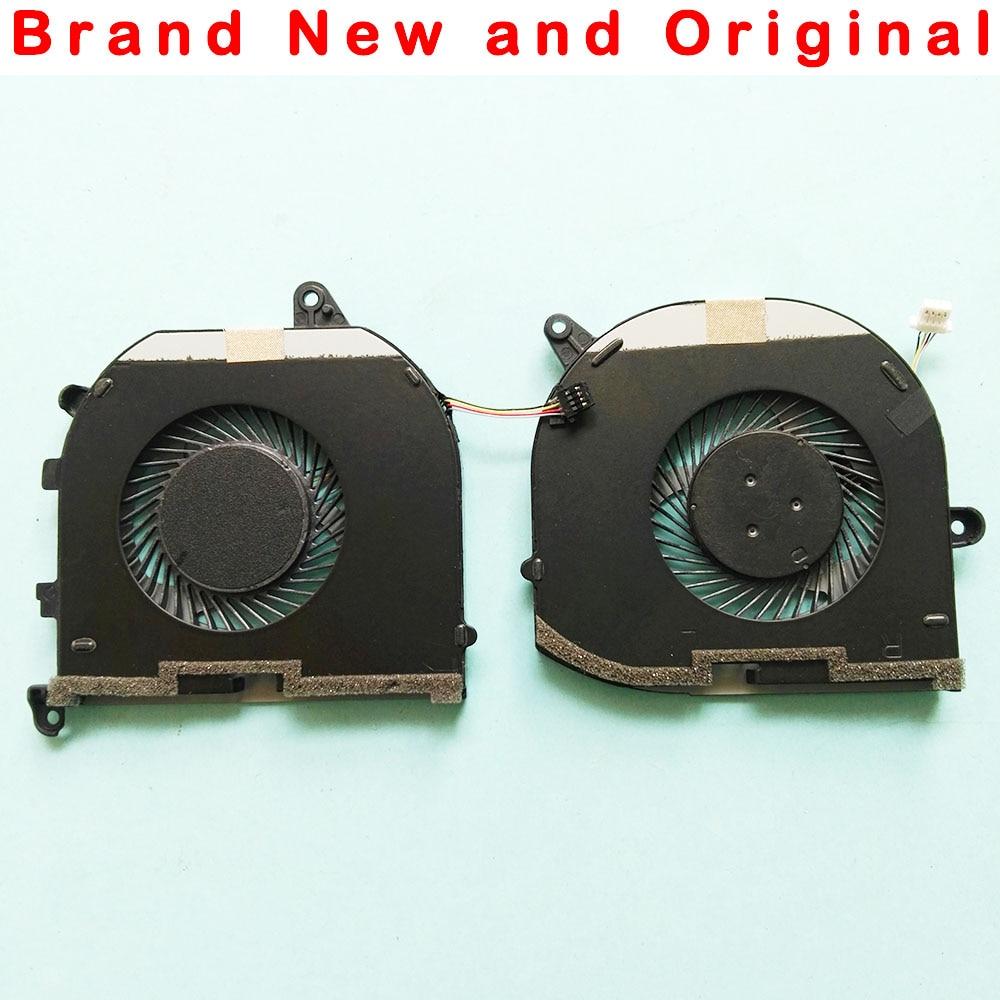 Novo original cpu gpu ventilador de refrigeração para dell xps 15 9570 precisão 5530 m5530 ventilador refrigerador 08yy9 tk9j1 dc 5 v 0.5a mv340 0mv340