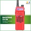 Красный Новый Baofeng УФ-5R с Длинными Типа Литий-Ионный Аккумулятор, 136-174 МГц & 400-520 МГц Ветчина Любительская Охота Полиция Отель Wakie Talkie