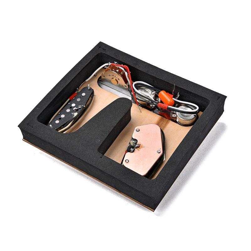 Pièces de guitare accessoires pick-up Set plaque de contrôle pour l'antiquité TL guitare 6 cordes 3 selle
