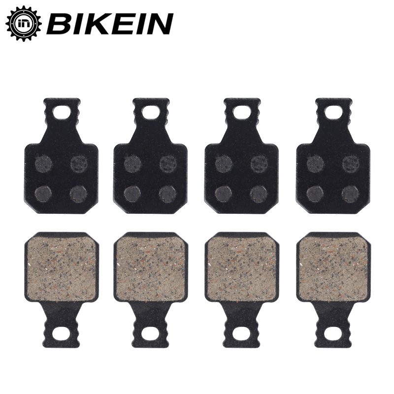 BIKEIN 4 Pairs Cycling Mountain Bicycle Hydraulic Brake Pad For Magura M5 M7 MT5 MT7 SH901 Resin Disc Brake Pads MTB Bike Parts