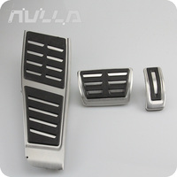 RHD pedal For Audi A7 pedals Stainless Steel AT Accessories Footrest Gas Modify Pedal Covers