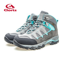 Clorts Women Hiking Boots Waterproof Trekking Shoes HKM-823B/E/F