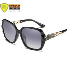 2018 Новая мода женщин поляризованных солнцезащитных очков Дизайнер бренда Солнцезащитные очки Солнцезащитные очки женские солнцезащитные очки Oculos De Sol A404