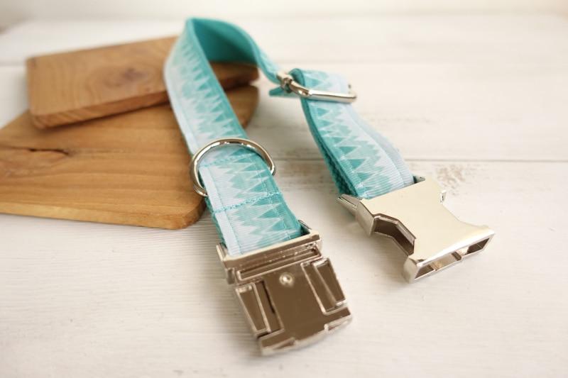 MUTTCO menjual kerah gaya segar THE GREEN MOUNTAIN kerah anjing cetak - Produk hewan peliharaan - Foto 5