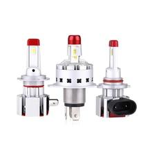 Car LED Headlight Bulbs H7 H4/HB2/9003 H11/H8/H9 9005/HB3 9006/HB4 10000LM LED Automobile Low High Beam Headlamp Plug and Play цена