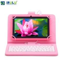 Irulu expro x1 7 »tablet allwinner quad core android 4.4 tablet две Камеры 8 Г ROM поддержка Wi-Fi OTG ГОРЯЧИЙ Продавец w/RU Клавиатура