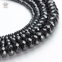 1strand Pack Wholesale Faceted Rondelle Hematite Shamballa Beads Pick Size 4 6 8 10 Mm F2766