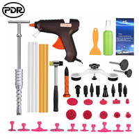 PDR Tools Paintless Dent Removal Car Kit Tools Auto Hail Repair Tool Set Dent Puller Pulling Bridge Suction Cups Glue Tabs