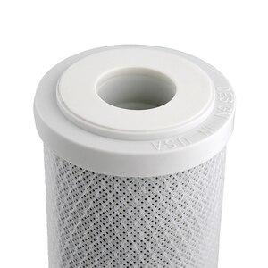 Image 4 - Coronwater CCBC 10C filtro de água casca de coco carvão ativado bloco ro substituição filtro de água cartucho
