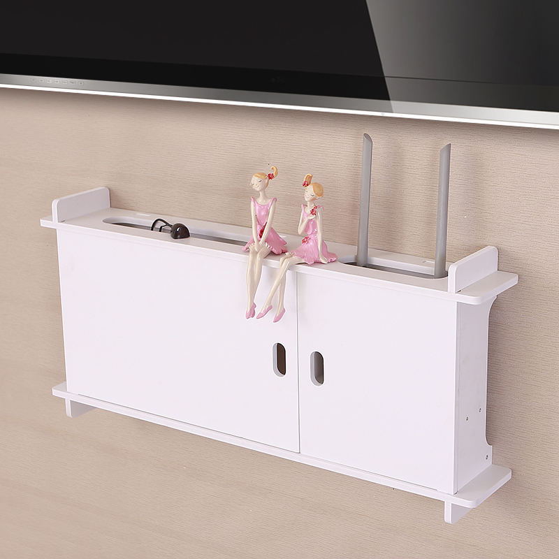 ₩Simple moderno TV marco socket router pared creativo caja de ...