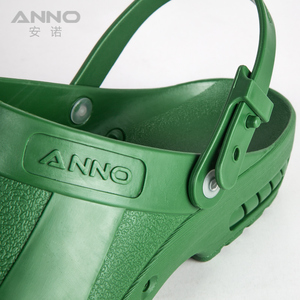 Image 5 - ANNO Medical clogs with Strap Nurse Safety Slippers Anti Static Surgical Foot wear for Women Men Grip Non slip Shoes