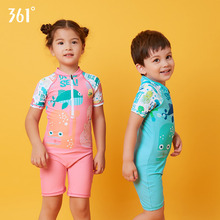 купить 361 Children Swimwear One Piece Boys Girls Swimsuit Kids Bathing Suit for Boys Character Swimming Suit Children Swimming Costume дешево