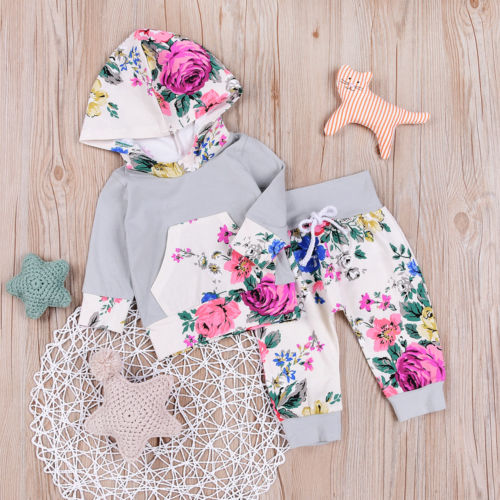Autumn-Winter-Baby-Clothing-Newborn-Toddler-Baby-Boy-Girl-Floral-Hooded-Tops-Pants-2Pcs-Outfits-Set-Clothes-2