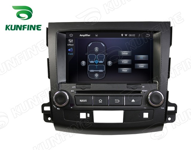 Quad Core 1024*600 Android 5.1 Car DVD GPS Navigation Player Car Stereo for Mitsubishi Outlander 2006-2012 Radio 3G Bluetooth
