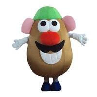 2016 Новинка взрослый размер Mr. Картофельная Голова Маскоты мультфильм костюм Toy Story Экипировка EPE