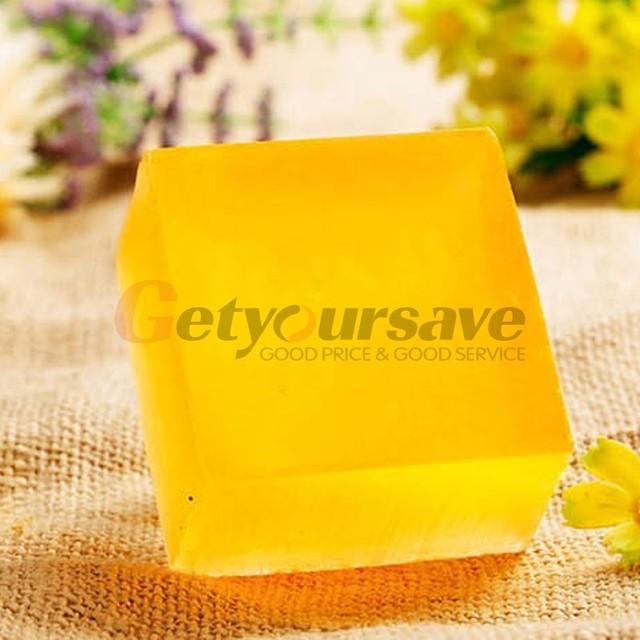 100% Handmade Honey Soap Bath Whitening Exfoliating Glutathione Arbutin Honey Acid Soap 100g 2