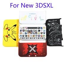 Funda protectora mate para Nintendo New 3DS LL/ New 3DS XL, funda Carcasa protectora para Pokemon Monster