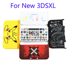 Matte Protector Cover Plate Protective Case Housing Shell for Nintendo New 3DS LL/ New 3DS XL for Pokemon Monster