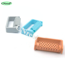 1 pc 32 Holes Dental Sterilization Disinfection Holder Block Case for High Speed Burs