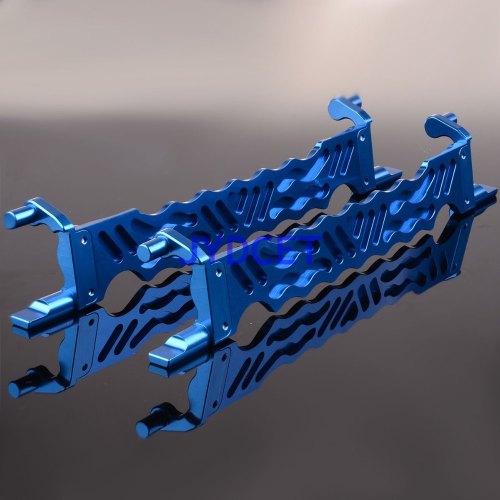RC Battery Holder Navy For 1 5 Traxxas TXM0126N X Maxx 77076 Aluminum