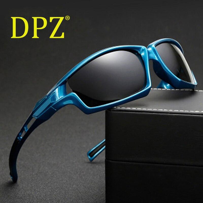 Neueste Kollektion Von 2018 Dpz Luxus Marken Goggles Sport Männlichen Polarisierte Männer Sonnenbrille Gafas De Sol Outdoor Uv400 Männlichen Mit Fall Sonnenbrille Hohe QualitäT Und Preiswert