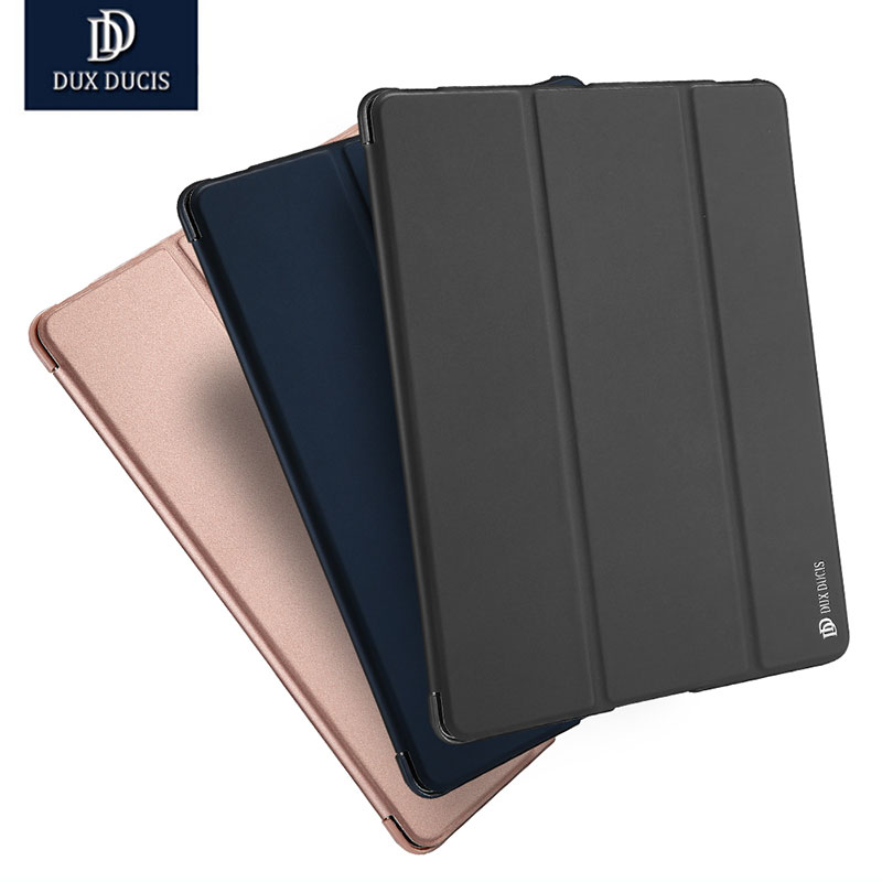 DUX DUCIS High tablet case cover For apple iPad 2 3 4 Folding Folio Smart Stand PU Leather Cover for ipad 2 ipad 3 ipad 4 Case dux