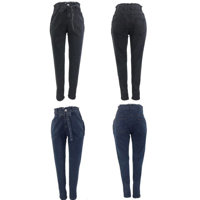 High Waist Stretch Denim Jean for Women