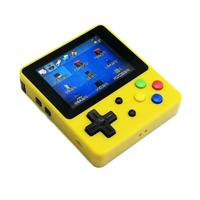 Portable Game Console 16G 2.6Inch Color Lcd For Ps1/Cps/Neogeo/Gba/Nes/Mdgbc/Gb/Atari Games Handheld Game Console Yellow