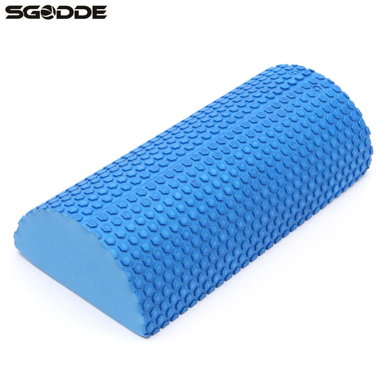 30cm Half Round Eva Foam Yoga Roller Pilates Fitness Foam