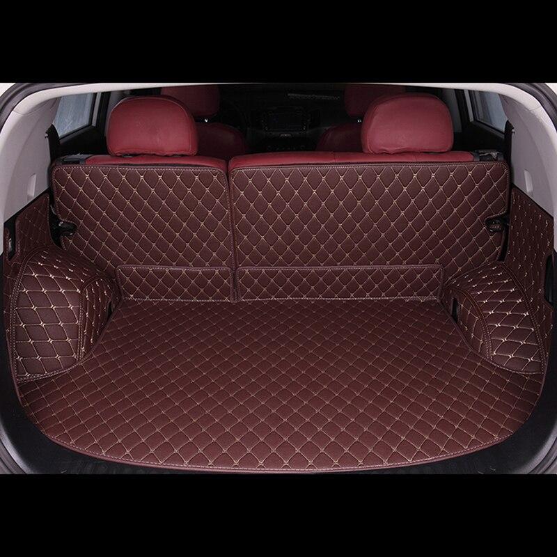 ETOATUO Fully enclosed trunk mat for kia rio 3 rio 4 ceed sportage 2018 soul sorento