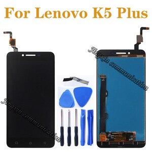 """Image 1 - 5.0 """"لينوفو K5 زائد شاشة الكريستال السائل + اللمس غيار للشاشة لينوفو K5 زائد A6020 A6020A40 A6020A46 A40 LCD إصلاح أجزاء"""
