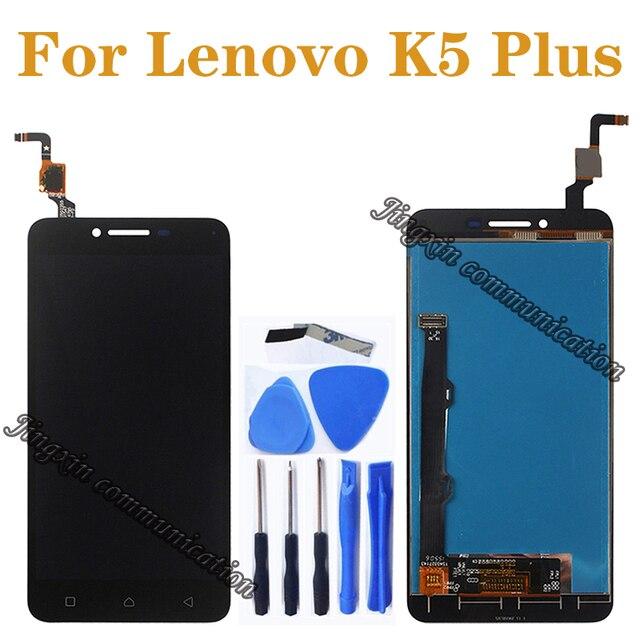 """5,0 """"para Lenovo K5 Plus pantalla LCD + pantalla táctil de reemplazo para Lenovo K5 Plus A6020 A6020A40 A6020A46 A40 LCD piezas de reparación"""