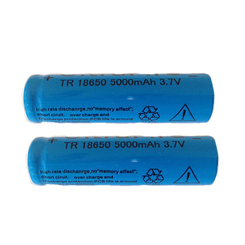 Image 2 - 2pcs The strong light flashlight rechargeable lithium battery 3.7V 18650 5000mAh lithium battery-in Portable Lighting Accessories from Lights & Lighting