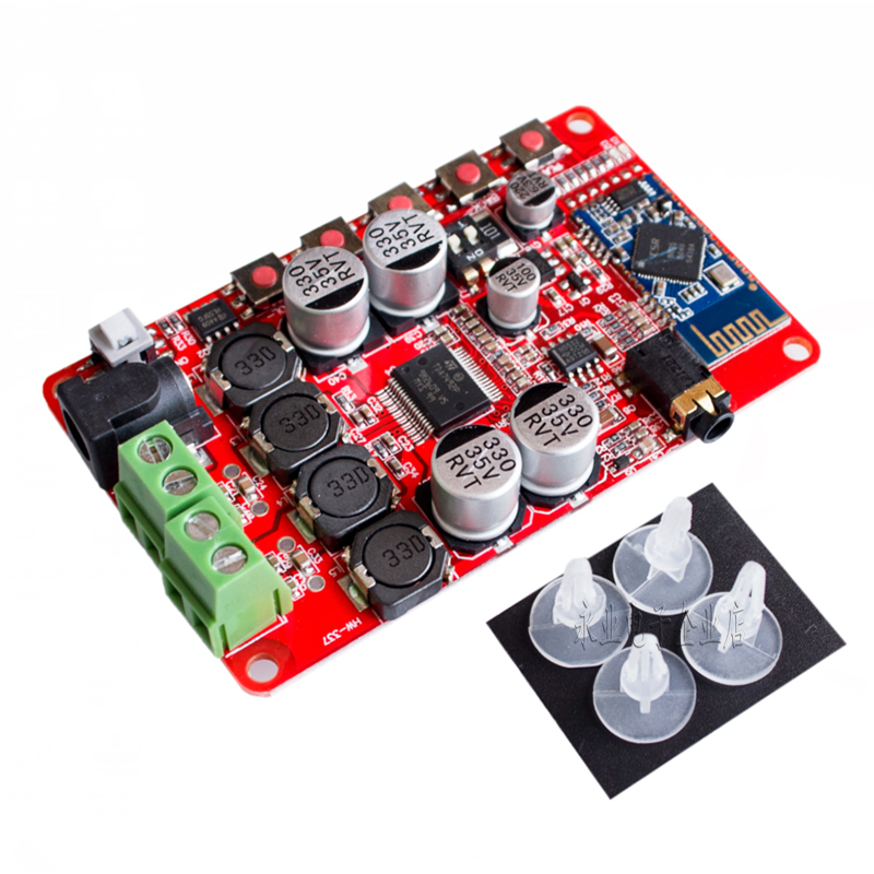 TDA7492P Bluetooth Power Amplifier Board Bluetooth Audio Reception Power Amplifier CSR4.0 Digital Power Amplifier Module