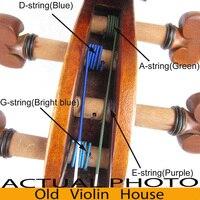 OVH Workshop Opera Perlon Violin Strings 4 4 Medium Gauge Full Set G D A E