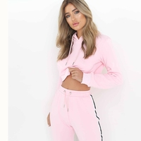 2018 Tracksuit Women Two Piece Set Hoodies Sweatshirt And Pant Female Casual Fitness Sportswear Set Fall