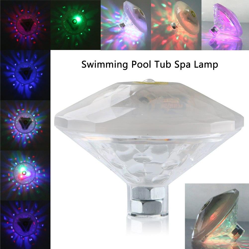 1 Stück Schwimm Licht GefÜhrt Schwimmbad Unterwasser Glow Licht Teich Whirlpool Wasserdicht Schwimm Lampe 6 Modi Zur Verbesserung Der Durchblutung