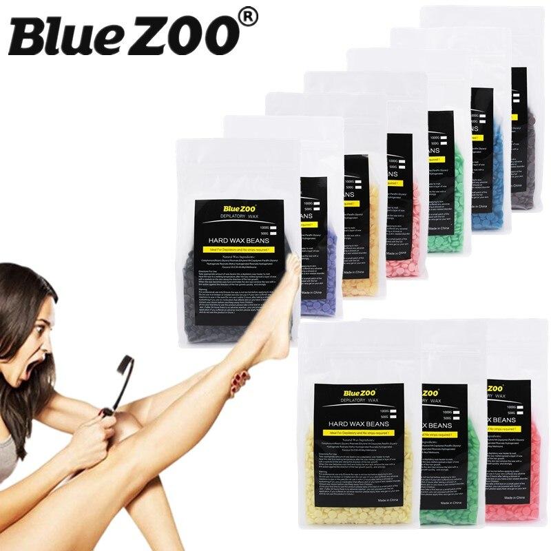 500G Depilatory Wax Beads Brazilian Body Facial Waxing Solid Pearl Wax Beans Pellet Hot Beauty No Wax Strips Hair Removal Cream