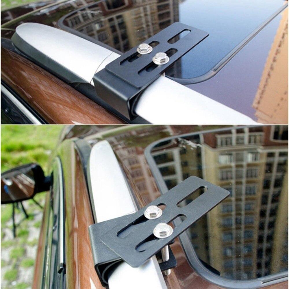 Dak strip lichtpunt beugel SUV bagagerek beugel Auto modificatie led spotlight clip licht frame lamp