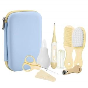 Набор для ухода за ребенком, удобный набор для ухода за ребенком, машинка для стрижки ногтей, ножницы, щетка для волос, маникюрная расческа, д...