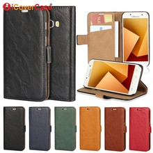 Coque For Samsung Galaxy A5 2016 Case Flip Cover PU Leather Wallet for Samsung A3 2015 A7 A5 J3 J5 2017 Funda Capa Etui Hoesjes
