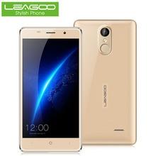 Leagoo mtk6580a m5 5.0 дюймов 3 г смартфон android 6.0 quad core 2 ГБ RAM 16 ГБ ROM Мобильный Сотовый Телефон Отпечатков Пальцев Двойной SIM WiFi