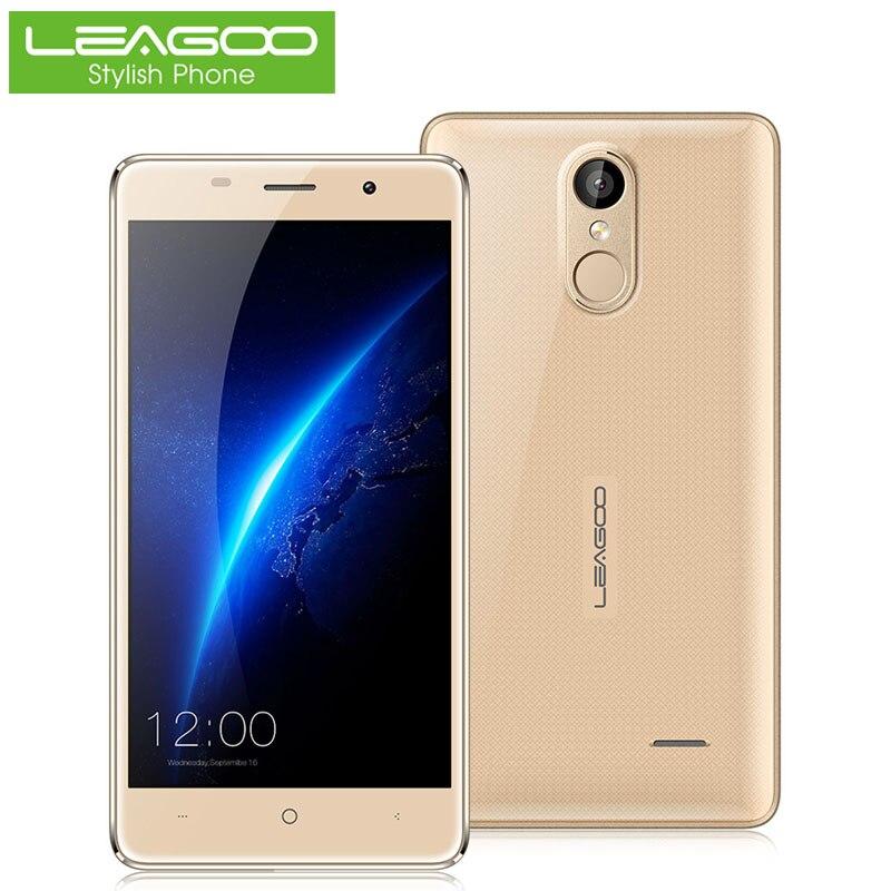 Цена за Leagoo mtk6580a m5 5.0 дюймов 3 г смартфон android 6.0 quad core 2 ГБ RAM 16 ГБ ROM Мобильный Сотовый Телефон Отпечатков Пальцев Двойной SIM WiFi