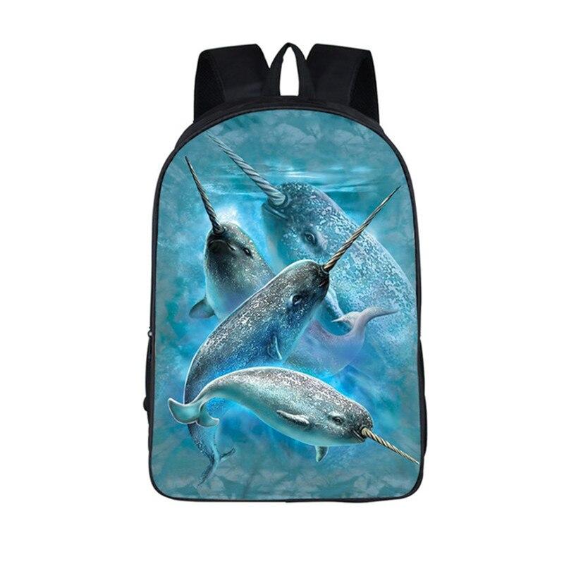 ff566eb05e 2018 New Unicorn Sea Mermaid Kawaii School Students Backpack Fashion Girls  Laptop Travel Galaxy Bag Dropshipping Knaspack-in Backpacks from Luggage    Bags ...