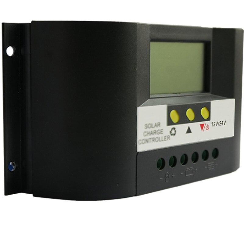 цена на NV-SC8024CTE 80A Solar Charge Controller 12V 24V LCD Screen Display PWM Charging Off Grid PV Controller Solar Power Regulator