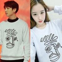 HPEIYPEIKPOP Korean Fashion 2016 BTS Bangtan Boys JungKook Young Forever Album Cotton Hoodies Clothes Pullovers Sweatshirts