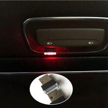 USB del coche LED de atmósfera de la lámpara para Jetta Phaeton Phideon variante Beetle Touran T-Roc Atlas Amarok Tarok MOIA CARAVELLE MULT
