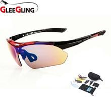 09b35fc1cb GLEEGLING gafas de sol hombres pesca ajuste sobre visión nocturna gafas de  conducción pesca Eyewear 1 Unidades 5 lente